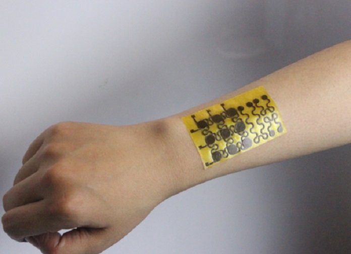 Researchers developed electronic skin self-healable recyclable