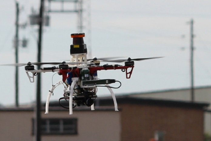 New system allows drones to fly through forests, cities