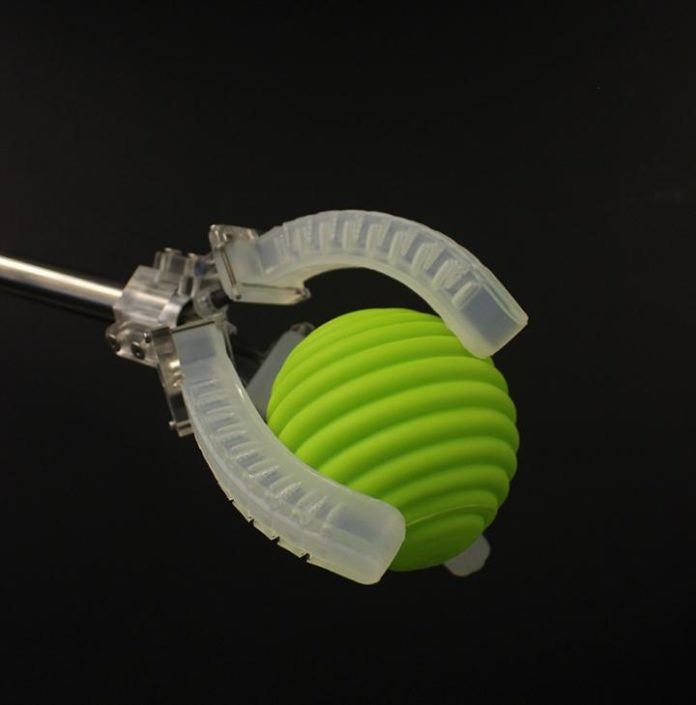 Gripper Square. Harvard researchers have developed a platform for creating soft robots with embedded sensors that can sense movement, pressure, touch, and temperature.