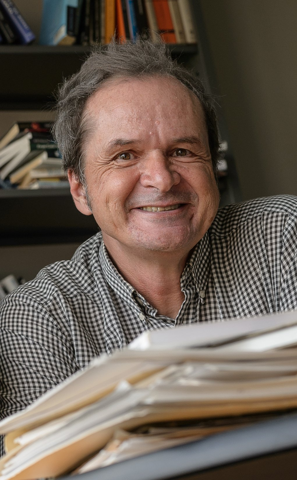 Adrian Lenardic (Photo by Jeff Fitlow/Rice University)