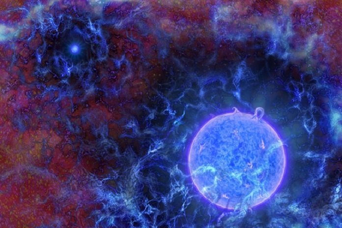 Astronomers Detect Evidence of Earliest Stars in the Universe