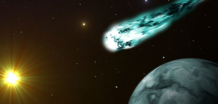 The mystery of how comets are able to emit X-rays has been solved by a team led by the University of Oxford. Image credit: Shutterstock