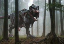 Dark Zombie Tyrannosaurus