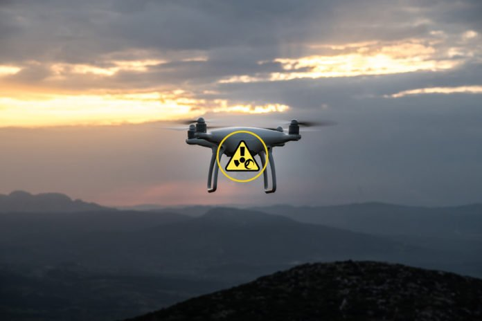Drones can be a security risk.