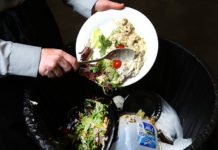 About 21 percent of the American food supply goes to waste, with much at the consumer level in restaurants and homes. But the choice to throw out leftovers may often be a rational one based on time and food safety, according to research from Purdue University economist Jayson Lusk. (Purdue Agricultural Communication photo/Tom Campbell)