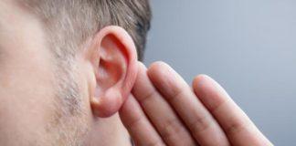 man with hearing loss