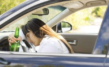 girl, drink, driving