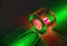 The world's first continuous room-temperature solid-state mase
