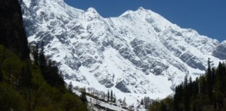 General view of the snow avalanche slopes at Dhundi, Himachal Pradesh, India. (Juan Antonio Ballesteros-Cánovas / UNIGE)