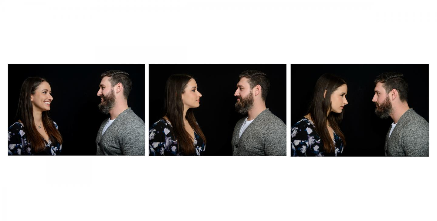 New research published in the Journal of Personal and Social Relationships found that parental conflict can affect the emotional processing of children -- with potentially long lasting negative effects. In the study, children were shown 90 photos of actors portraying couples in angry, happy and neutral poses and asked to identify which mood the photo fit. Children from high conflict homes were not able to accurately identify neutral interactions. In this photo, similar to one used in the research, the couple is engaged in a neutral interaction.  CREDIT Brian Jenkins