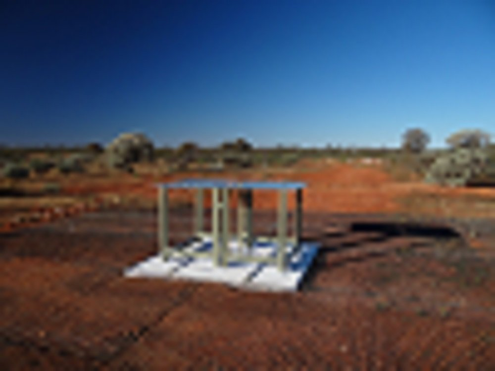 In each instrument, radio waves are collected by an antenna consisting of two rectangular metal panels mounted horizontally on fiberglass legs above a metal mesh. The EDGES detection required the radio quietness at the Murchison Radio-astronomy Observatory, as Australian national legislation limits the use of radio transmitters near the site. This discovery sets the stage for follow-up observations with other powerful low-frequency facilities, including HERA and the forthcoming SKA-low. Photo Credit: Judd Bowman (ASU)