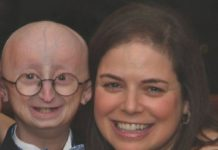 Sam Berns and Leslie Gordon Sam Berns passed away due to complications from progeria in 2014. His mother, Dr. Leslie Gordon, is researching new treatments for the condition. She and her colleagues report encouraging new findings today the the Journal of the American Medical Association.