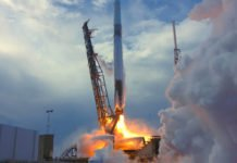 A SpaceX Dragon launched at 4:30 p.m. EDT from Space Launch Complex 40 at Cape Canaveral Air Force Station in Florida delivering more than 5,800 pounds of equipment and research to the International Space Station. Credits: NASA