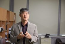 Professor Hyug Moo Kwon in the School of Life Sciences at UNIST.
