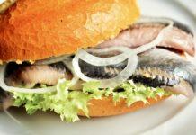Fischbrötchen, Fish