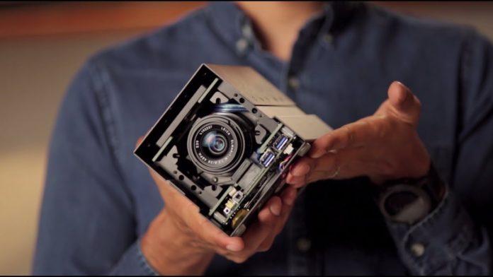 Fluid Lensing camera technology