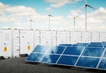 Electricity is also needed when the sun is not shining and no wind is blowing. Low-cost batteries are one way of temporarily storing energy from renewable sources. (Visualisations: Shutterstock)