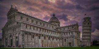 Pisa. Leaning Tower Of Pisa,