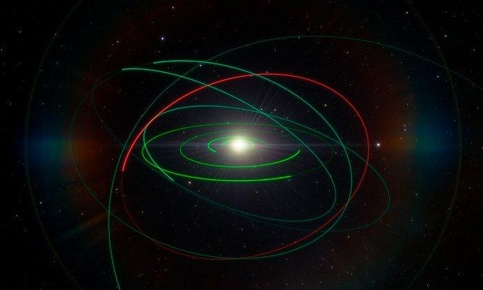 PR Image eso1814b Orbital exile