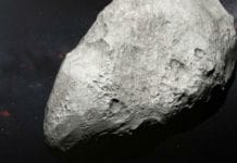 PR Image eso1814a Artist's impression of exiled asteroid 2004 EW95