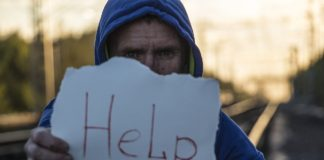 Person asking for help