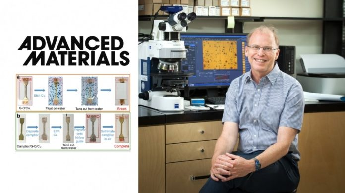 Distinguished Professor Rodney S. Ruoff from the Center for Multidimensional Carbon Materials (CMCM), within the Institute for Basic Science (IBS) at UNIST.
