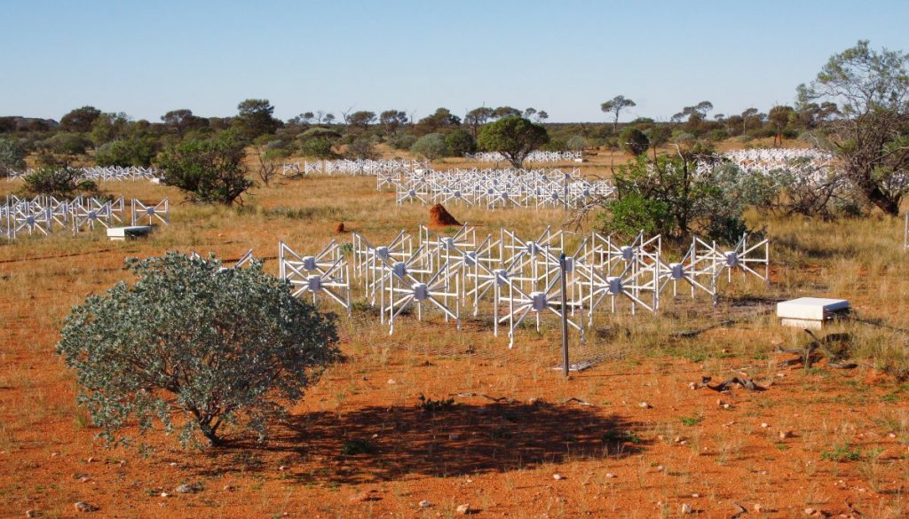 The Murchison Widefield Array. (Credit: Tobias Westmeier)