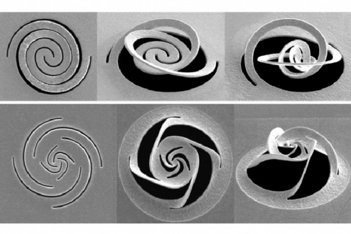 Kirigami-inspired technique manipulates light at the nanoscale