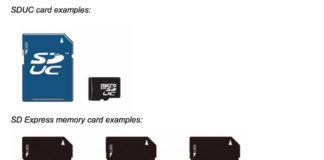 SDUC card examples