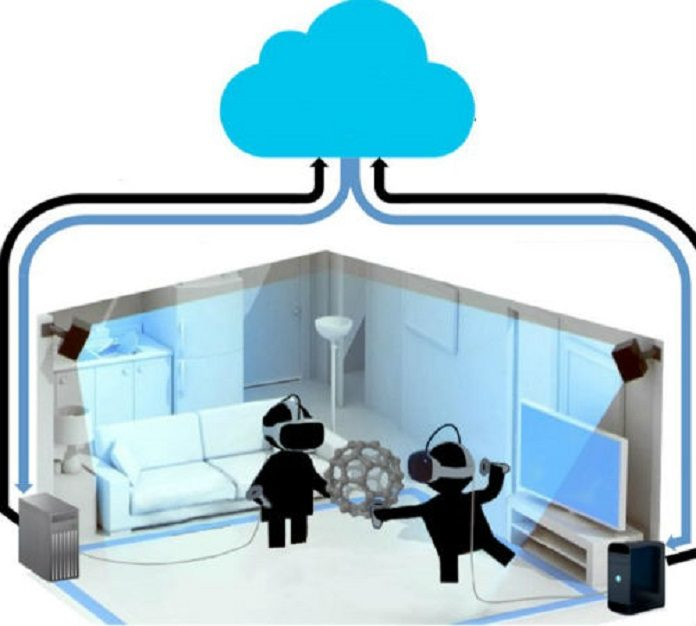 virtual reality (VR) cloud-based platform