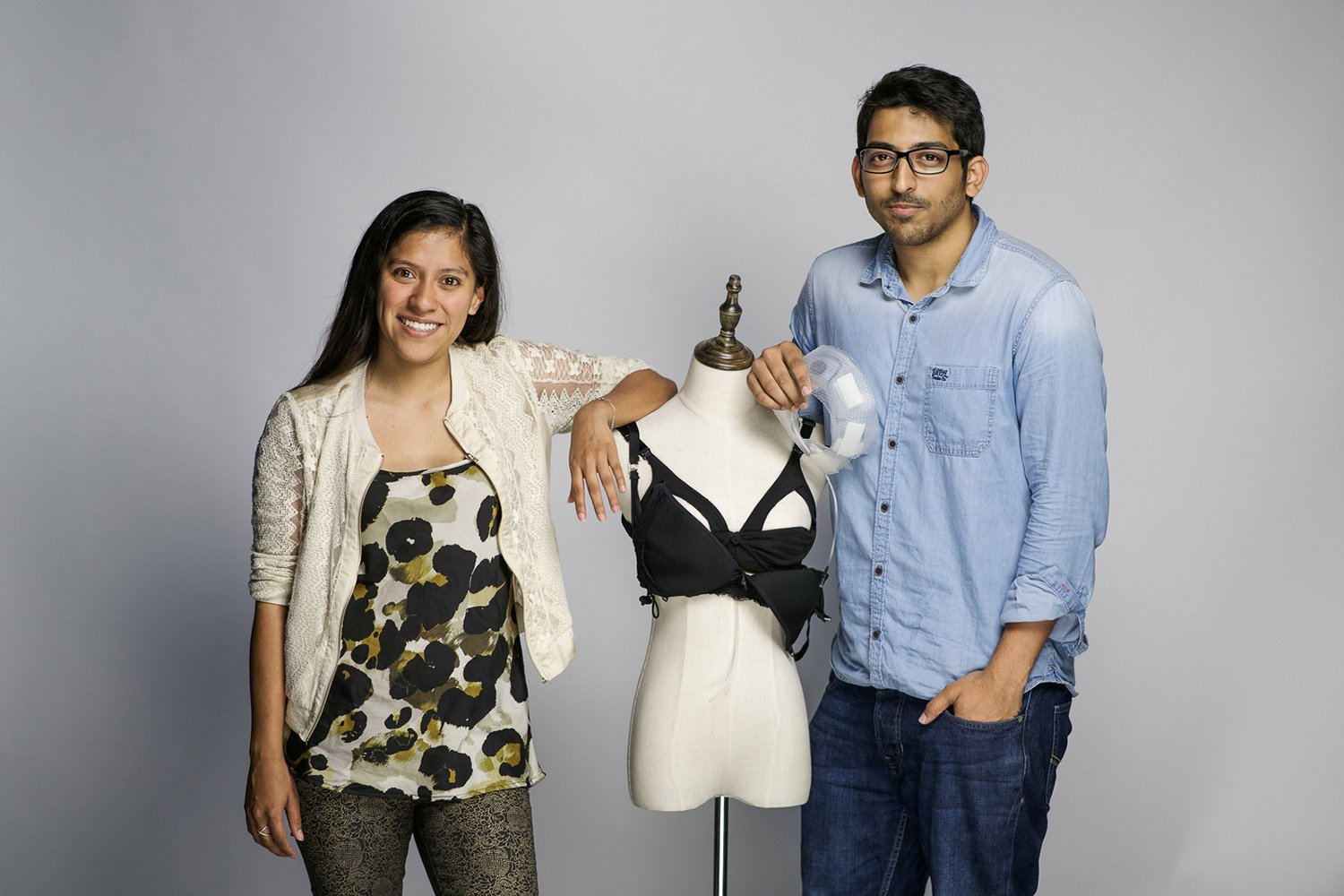Lilu founders Adriana C. Vazquez Ortiz '11 and Sujay Suresh Photo courtesy of Lilu.