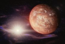 Astronomers predict that the Mars will come close to the Earth in 5 years