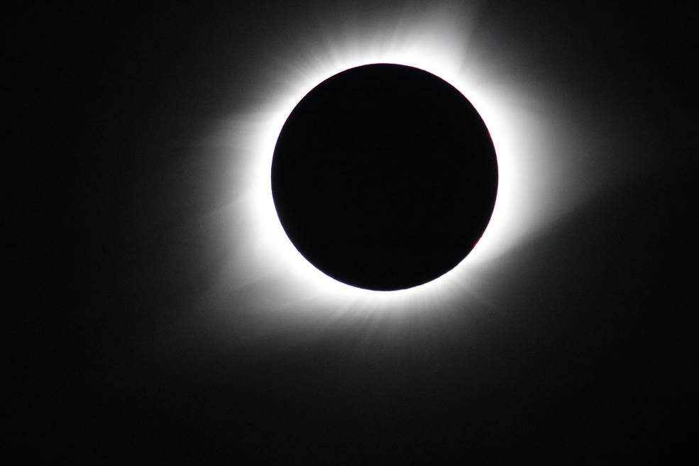 Most of what we know about the corona is deeply rooted in the history of total solar eclipses. Parker Solar Probe will fly through this very region, seeking clues to the Sun's behavior. This photo was taken in Madras, Oregon, during the total solar eclipse on Aug. 21, 2017. Credits: NASA's Goddard Space Flight Center/Gopalswamy
