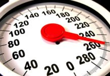 Being overweight may cause higher blood pressure and thicken heart muscle