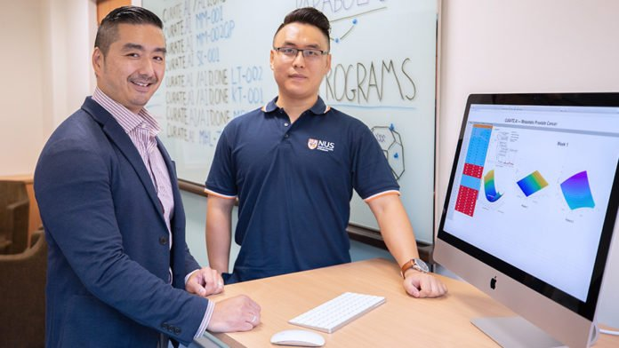 Professor Dean Ho (left) and Mr Theodore Kee (right) from the National University of Singapore, together with their translational research team, harnessed CURATE.AI to successfully treat a patient with advanced cancer, completely halting disease progression