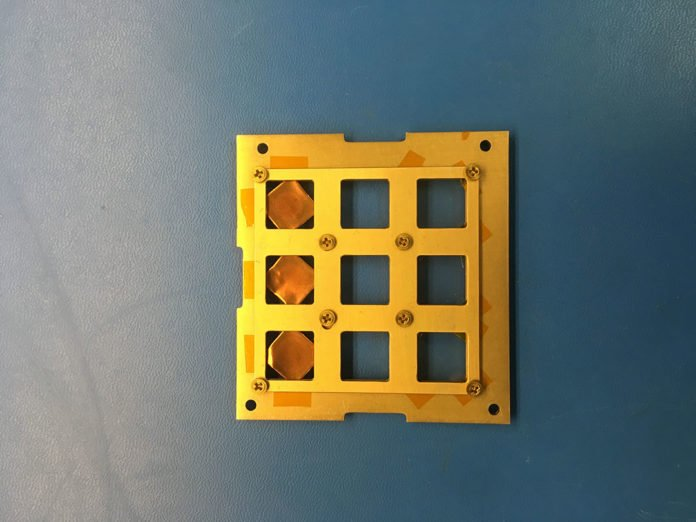 A team led by Professor Barbaros Özyilmaz from NUS CA2DM coated a single layer of graphene on a substrate, and the experiment was placed in the payload enclosure of the 'Wayfinder - Mini' CubeSat.