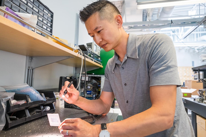 CAPTION Kenneth Chau is an associate professor of engineering at UBC's Okanagan campus.