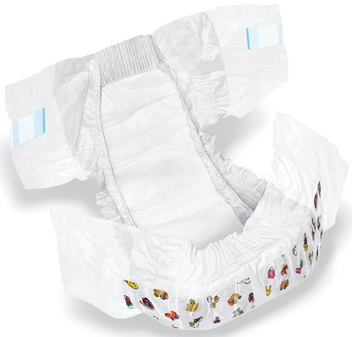 super-absorbent diaper