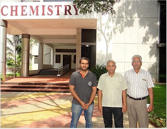 The researchers at IIT Madras