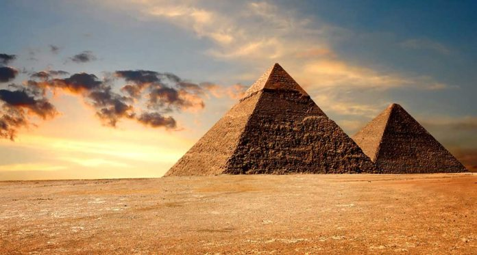 Great pyramid of Giza's shape can focus energy through its chambers