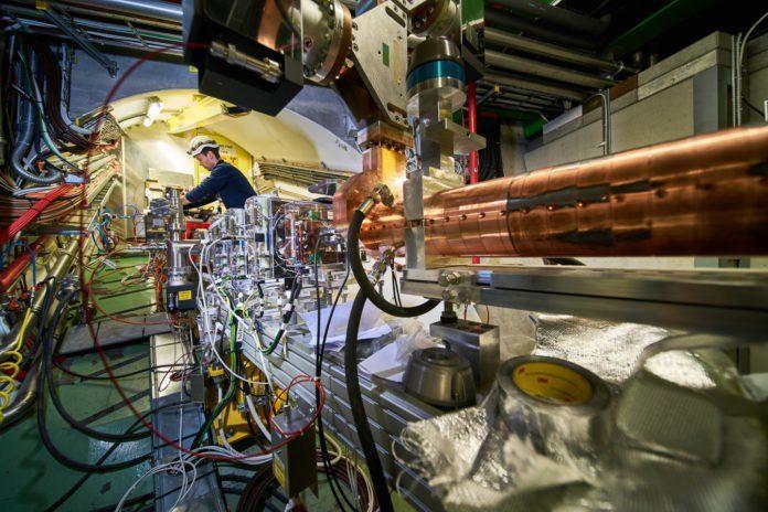 AWAKE's electron beam line