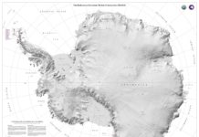 "New terrain map of Antarctica accurately depicts continent in ""stunning detail"