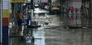 Flooded area in the centre of Manaus, 2009. Credit: Jochen Schöngart