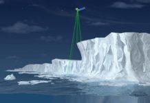 global Ice-measuring satellite