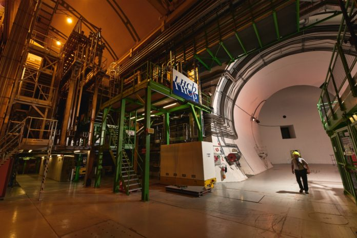 The LHCb experiment at CERN. (Image: CERN)