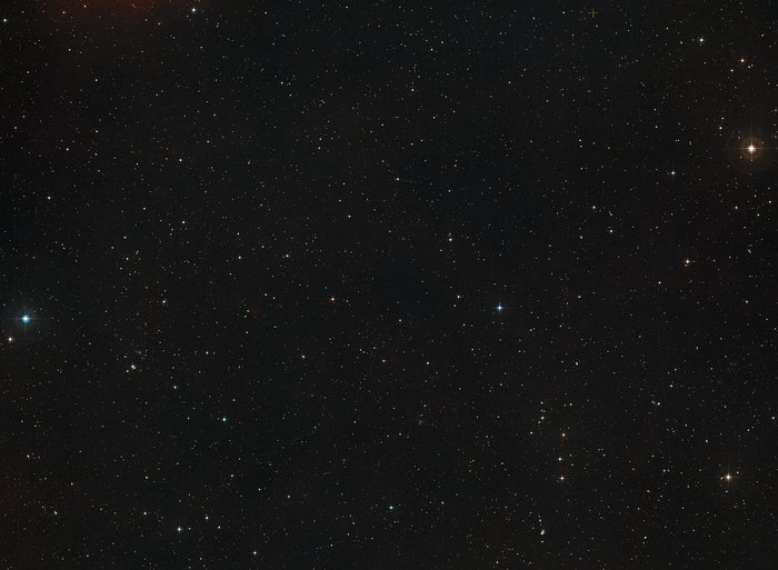 Digitized Sky Survey image around the Hubble ultra Deep Field