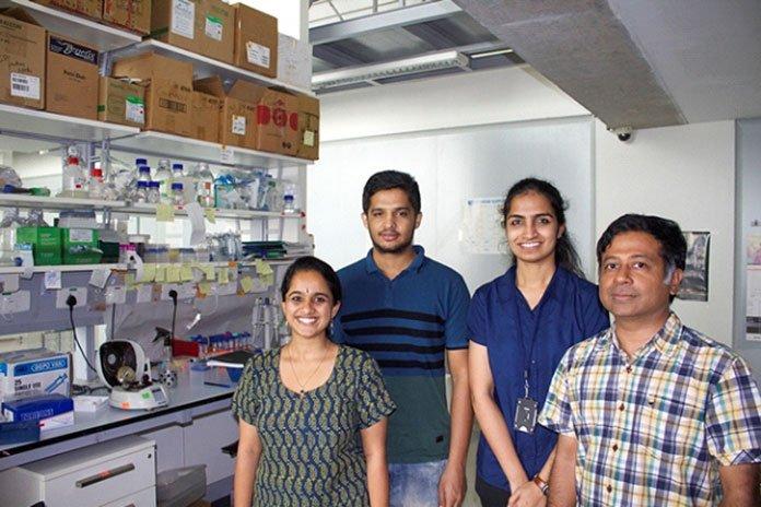Dr. Ramkumar Sambasivan with research team at inSTEM