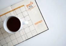 Goal-setting calendar. Image: Estee Janssens/Unsplash