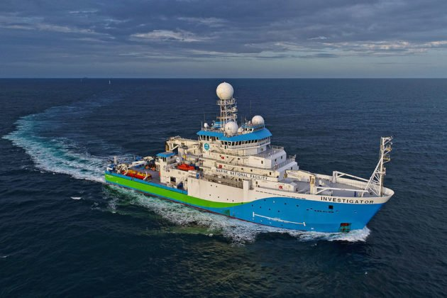 CSIRO research vessel Investigator ©Owen Foley