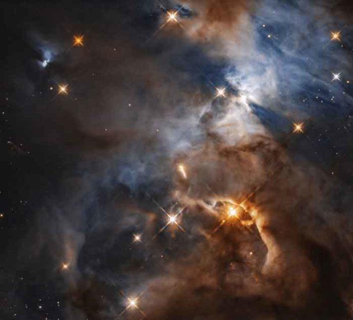 Cosmic shadow of HBC 672